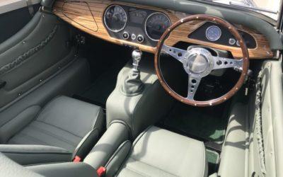 New Morgan Roadster In the Showroom!